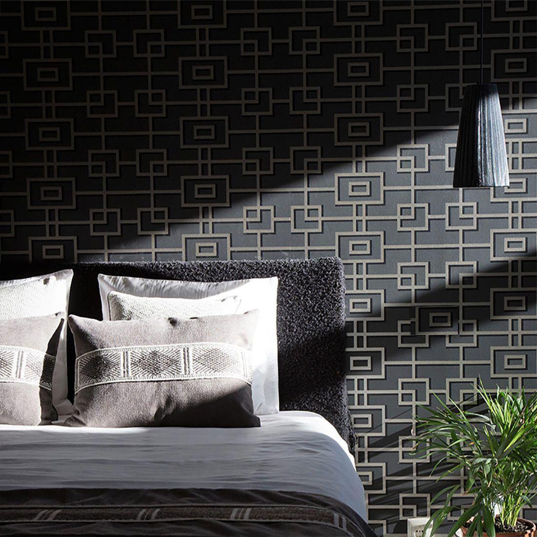 cojines-grandes-color-gris-decoración-dormitorio-textura-suave-majestad